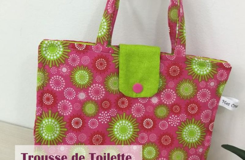 Patron Trousse de toilette Girly
